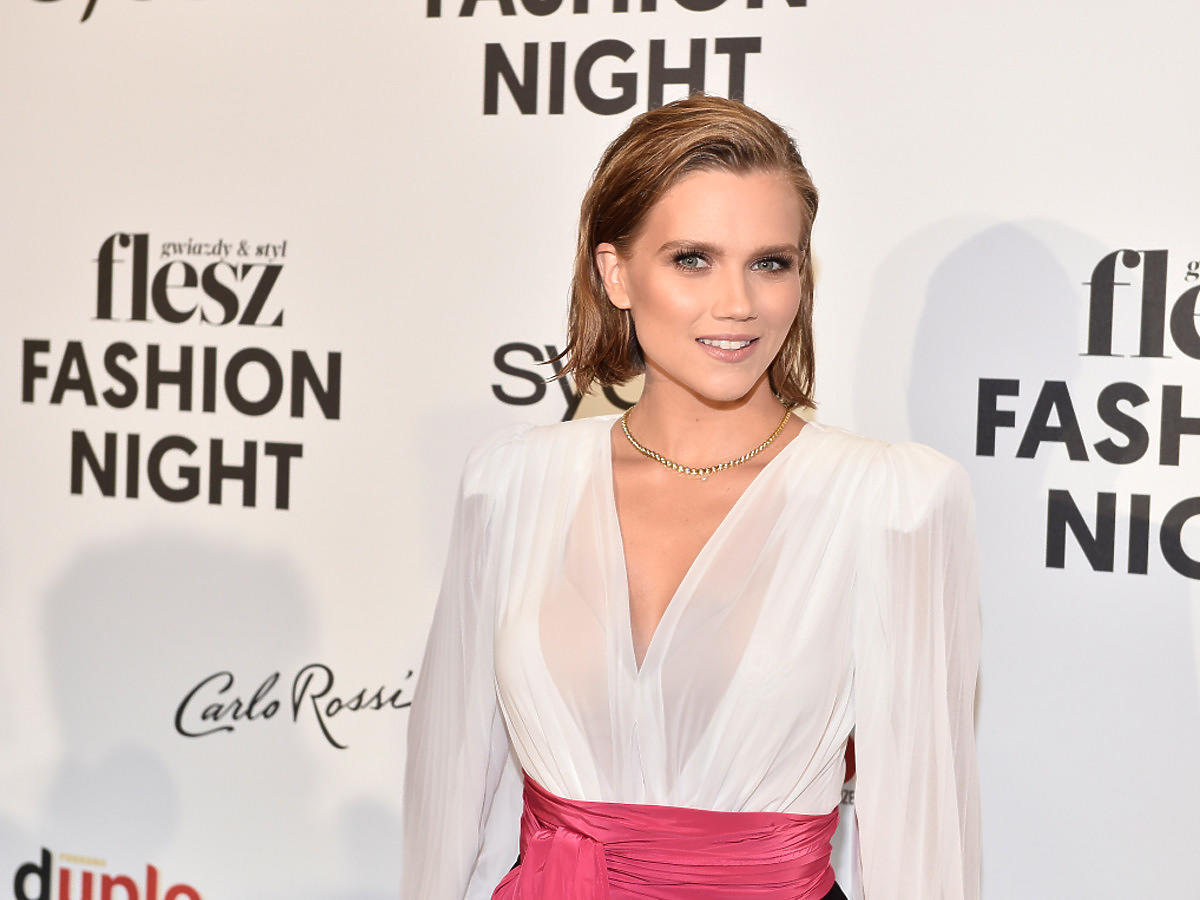 Agnieszka Kaczorowska na Flesz Fashion Night 2021