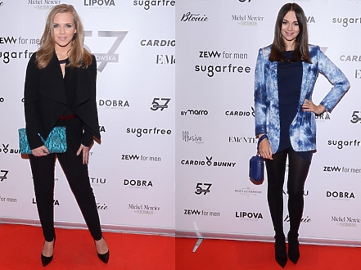 Agnieszka Kaczorowska, Paulina Krupińska, Jessica Mercedes na otwarciu butiku