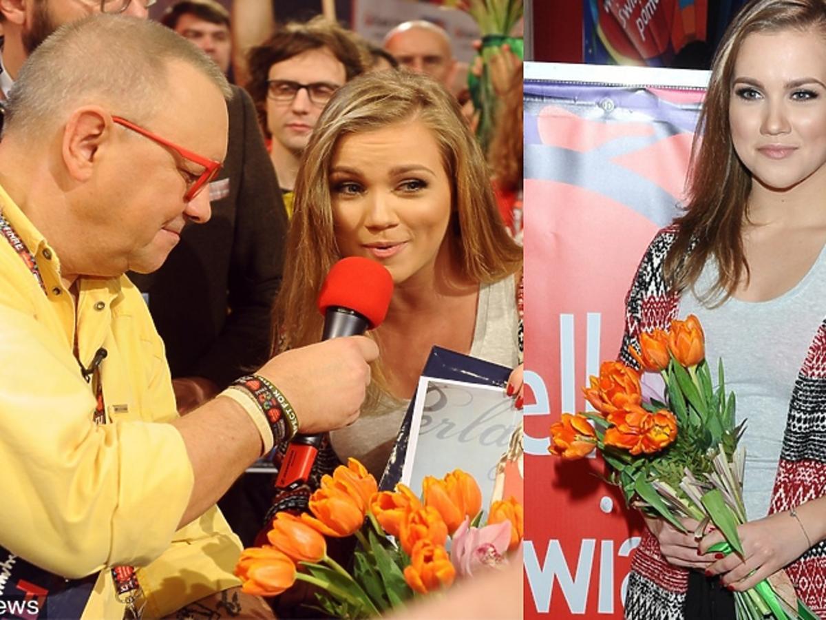 Agnieszka Kaczorowska wspiera WOŚP