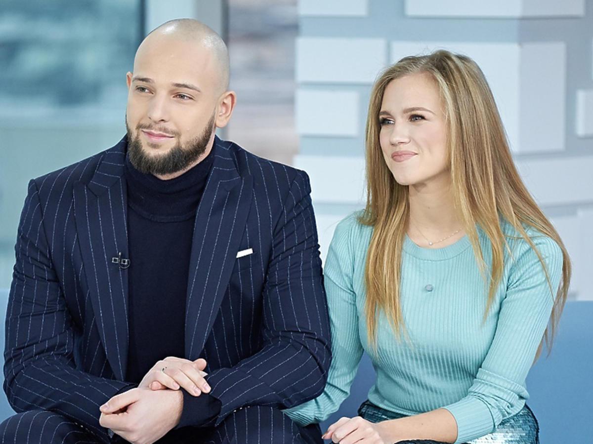 Agnieszka Kaczorowska z mężem w Dzień Dobry TVN