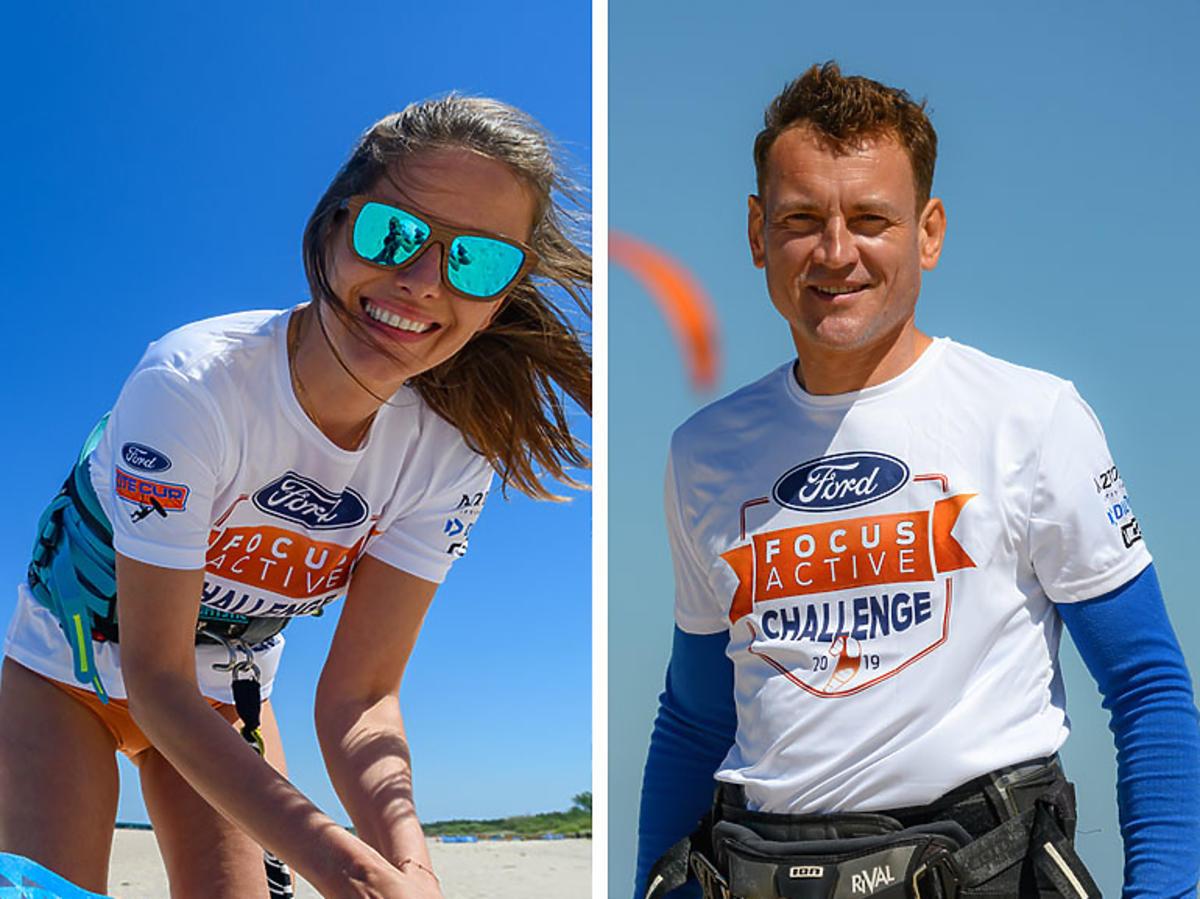 Agnieszka Kawiorska i Paweł Ławrynowicz na Ford Focus Active Challenge