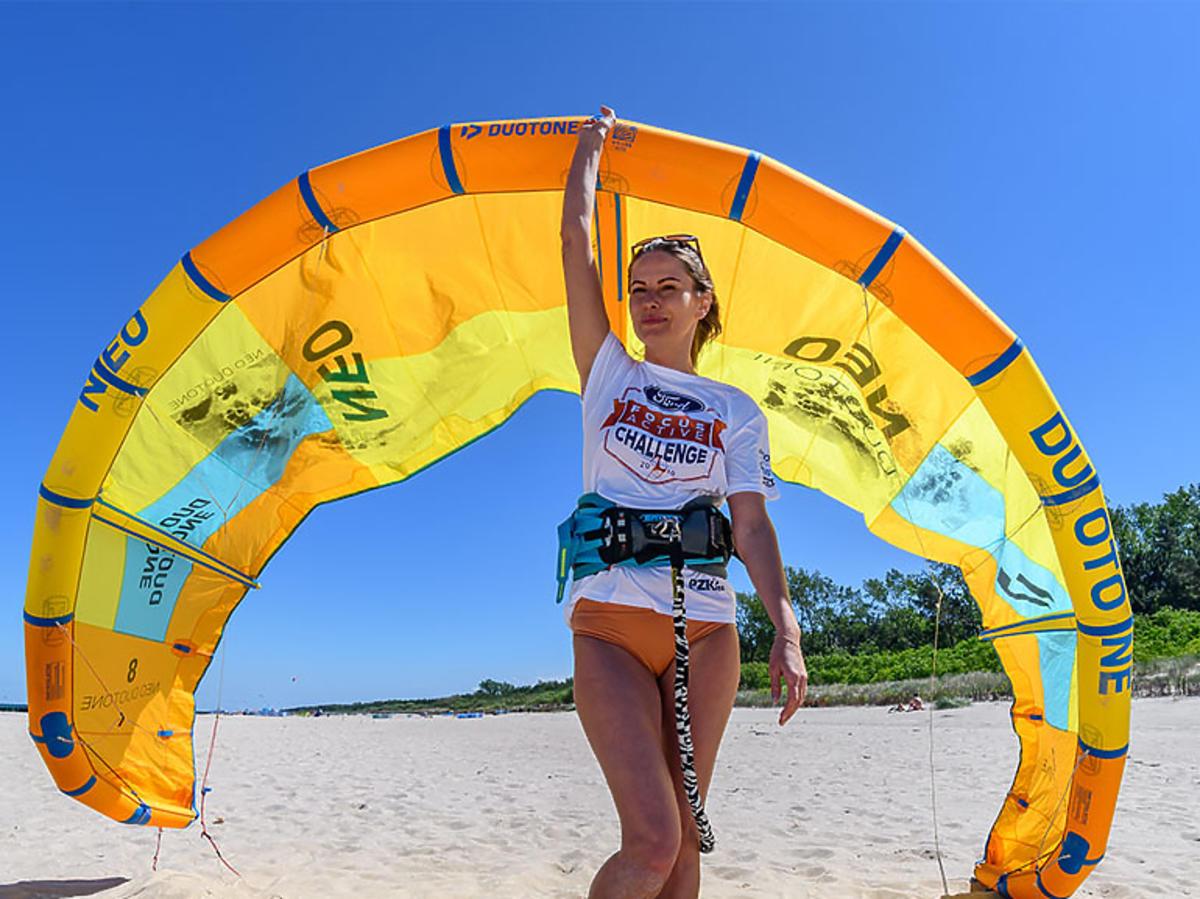 Agnieszka Kawiorska na Ford Focus Active Challenge