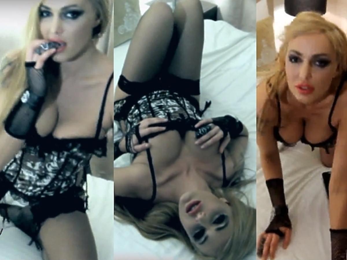 Agnieszka Orzechowska reklamuje seks kamery