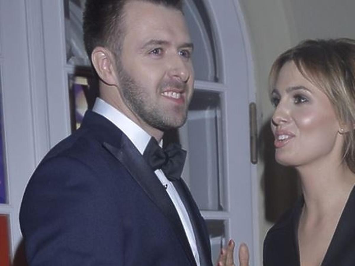 Agnieszka Popielewicz i Grzegorz Hyży pierwszy raz razem na salonach