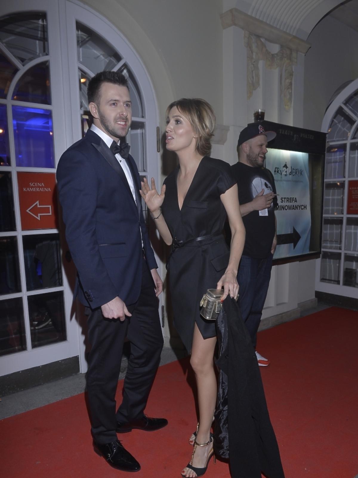 Agnieszka Popielewicz i Grzegorz Hyży razem na Fryderykach