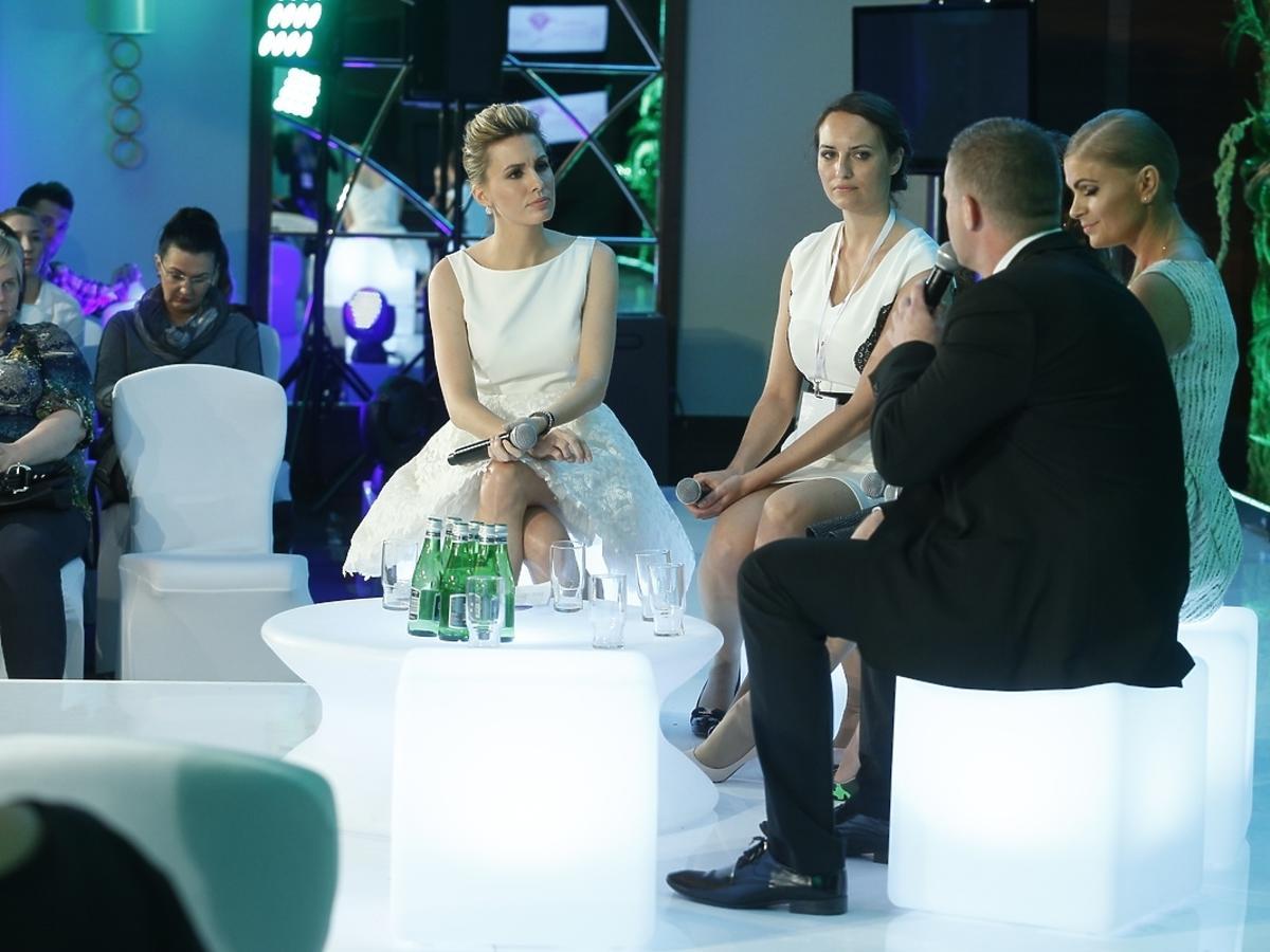 Agnieszka Popielewicz na gali Wedding Show