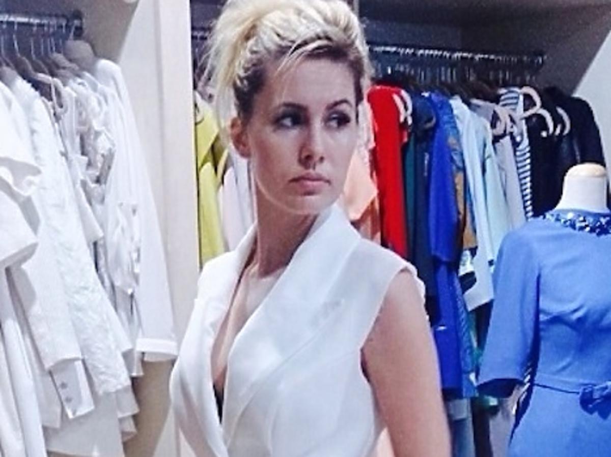 Agnieszka Popielewicz w sukience Top Trendy 2014