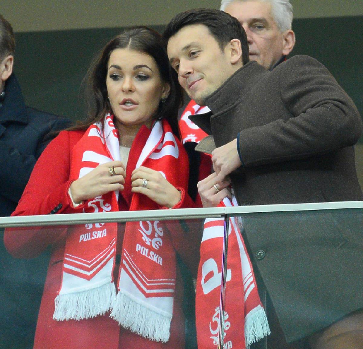 Agnieszka Radwańska, Dawid Celt na meczu
