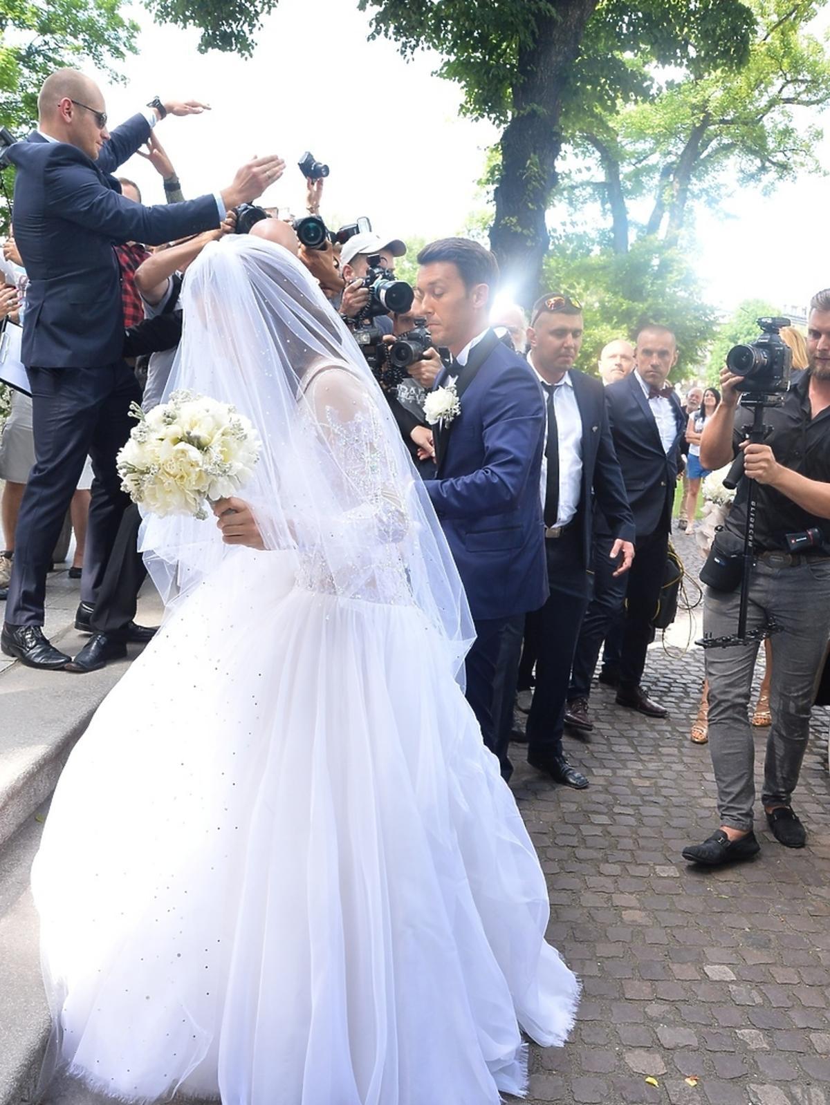 Agnieszka Radwańska, Dawid Celt zdjęcia ze ślubu