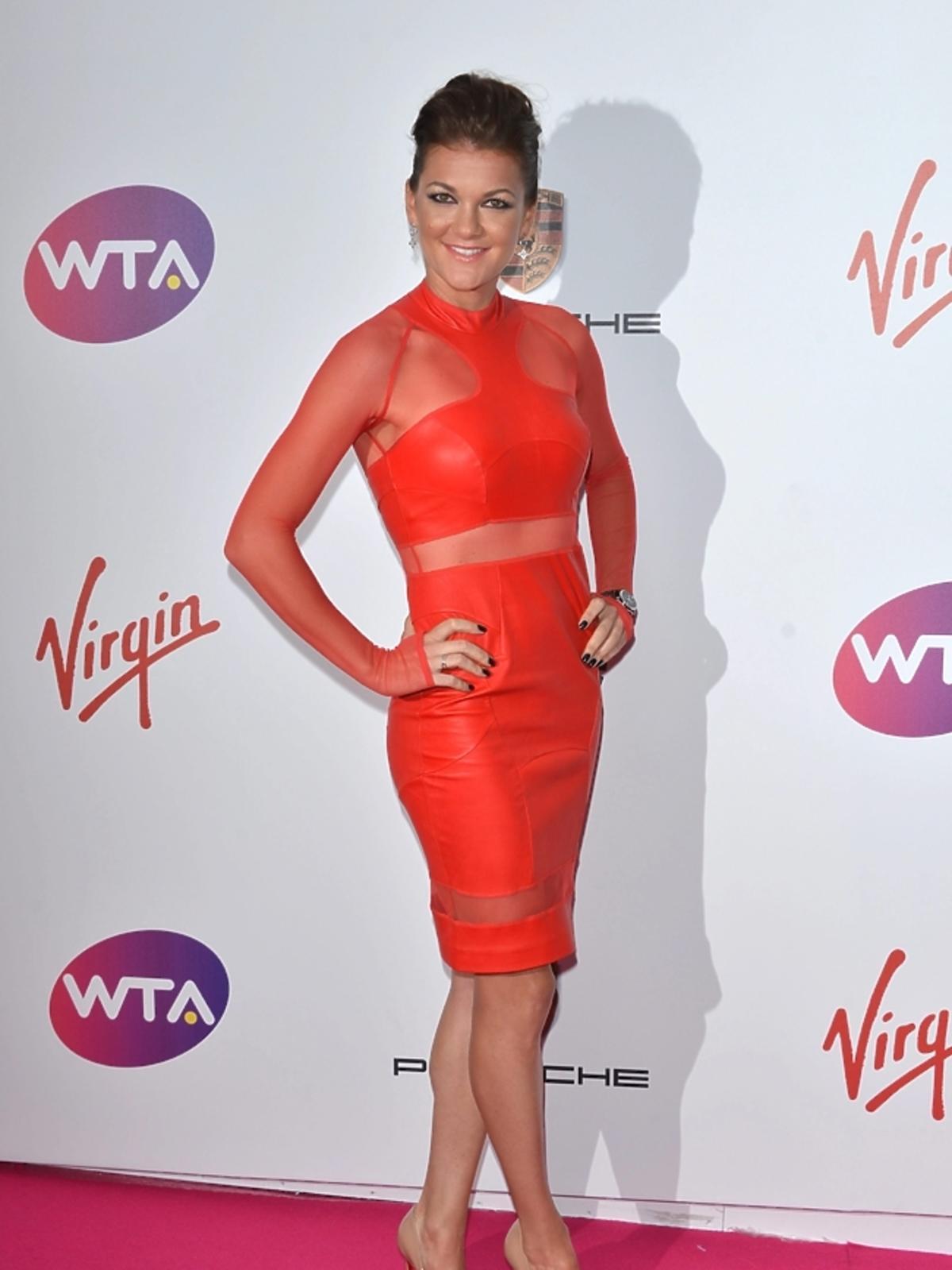 Agnieszka Radwańska na WTA Pre-Wimbledon Party