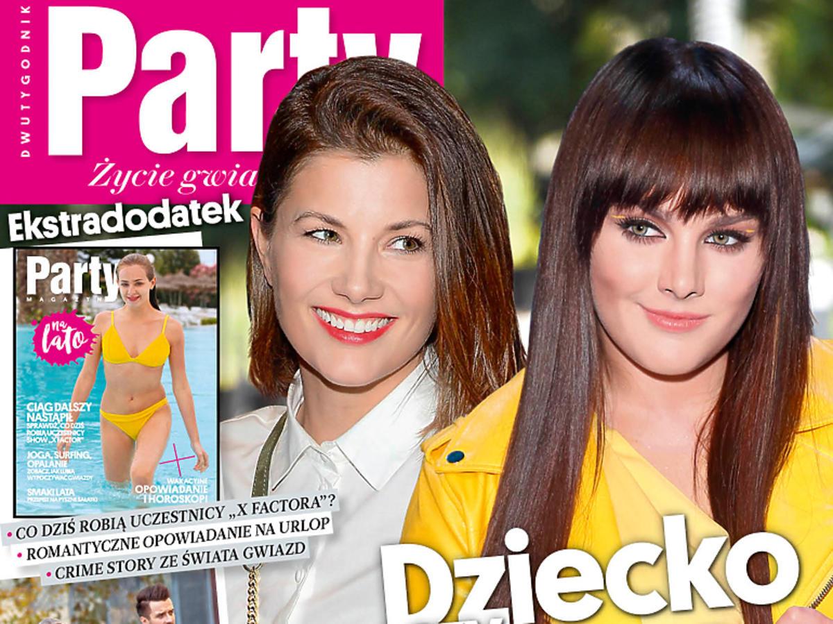 """Agnieszka Sienkiewicz i Ewa Farna na okładce """"Party"""""""
