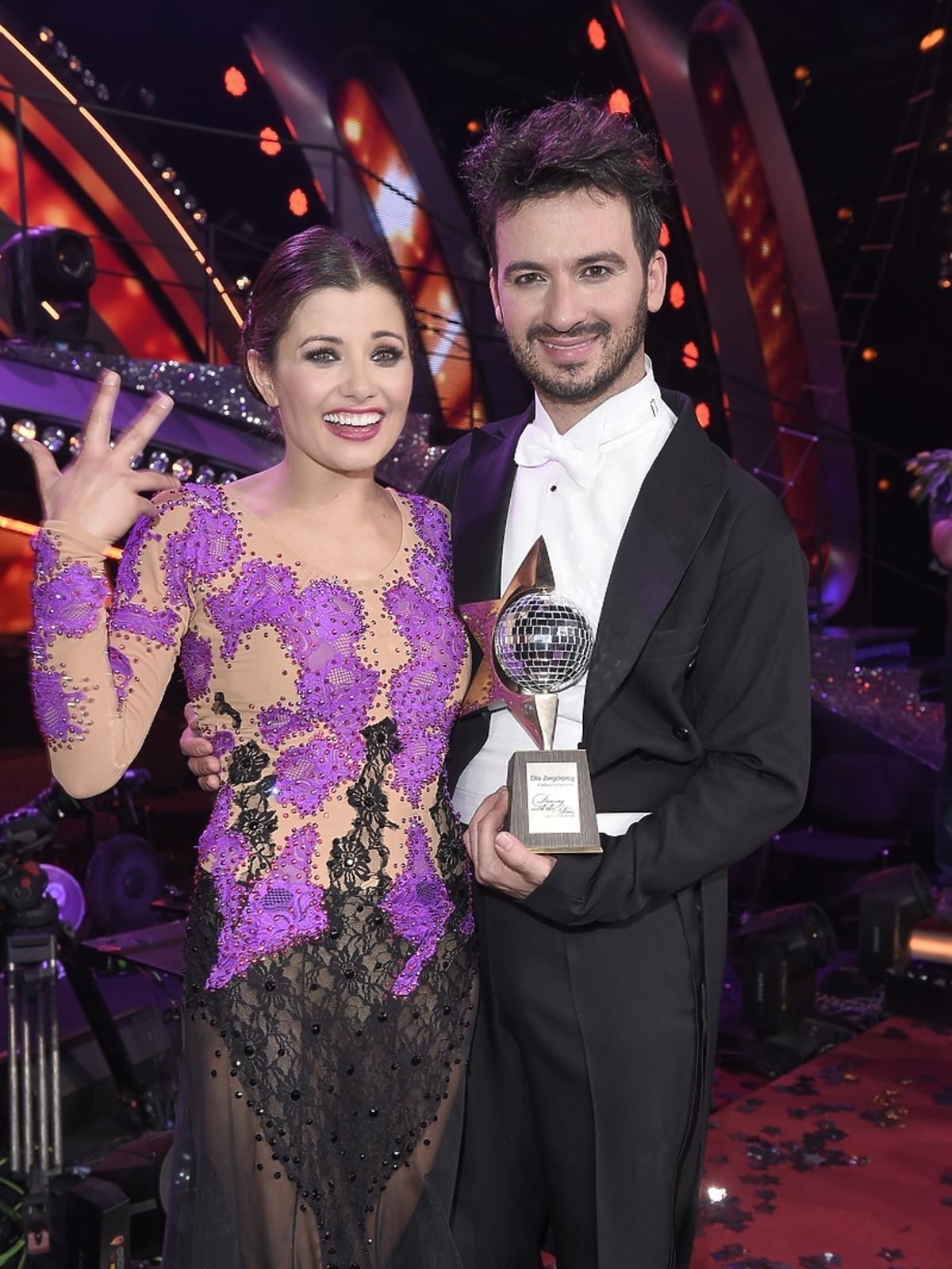 Agnieszka Sienkiewicz i Stefano Terrazzino w finale Tańca z Gwiazdami