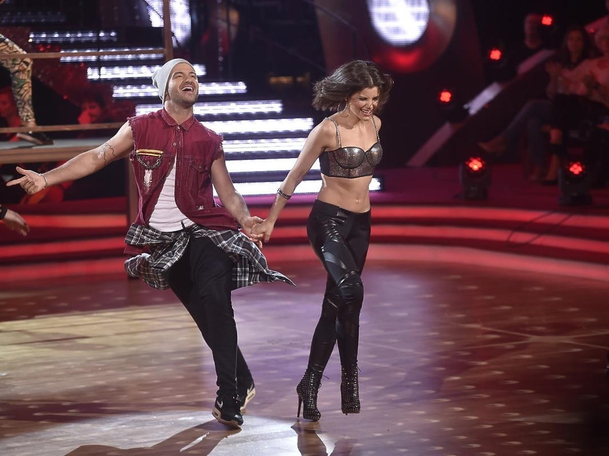 Agnieszka Sienkiewicz i Stefano Terrazzino w półfinale