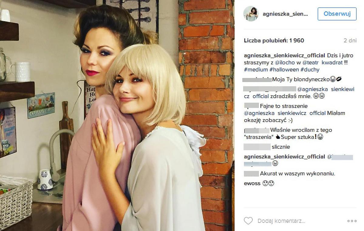 Agnieszka Sienkiewicz przefarbowała się na platynowy blond?