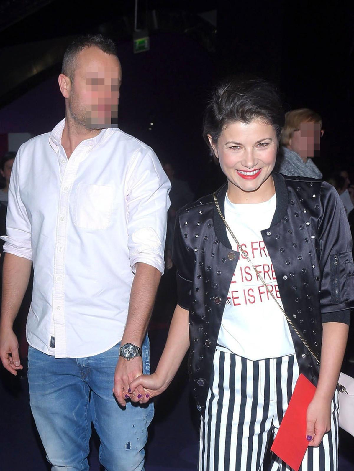 Agnieszka Siewnkiewicz z mężem  Mikołajem Gauerem