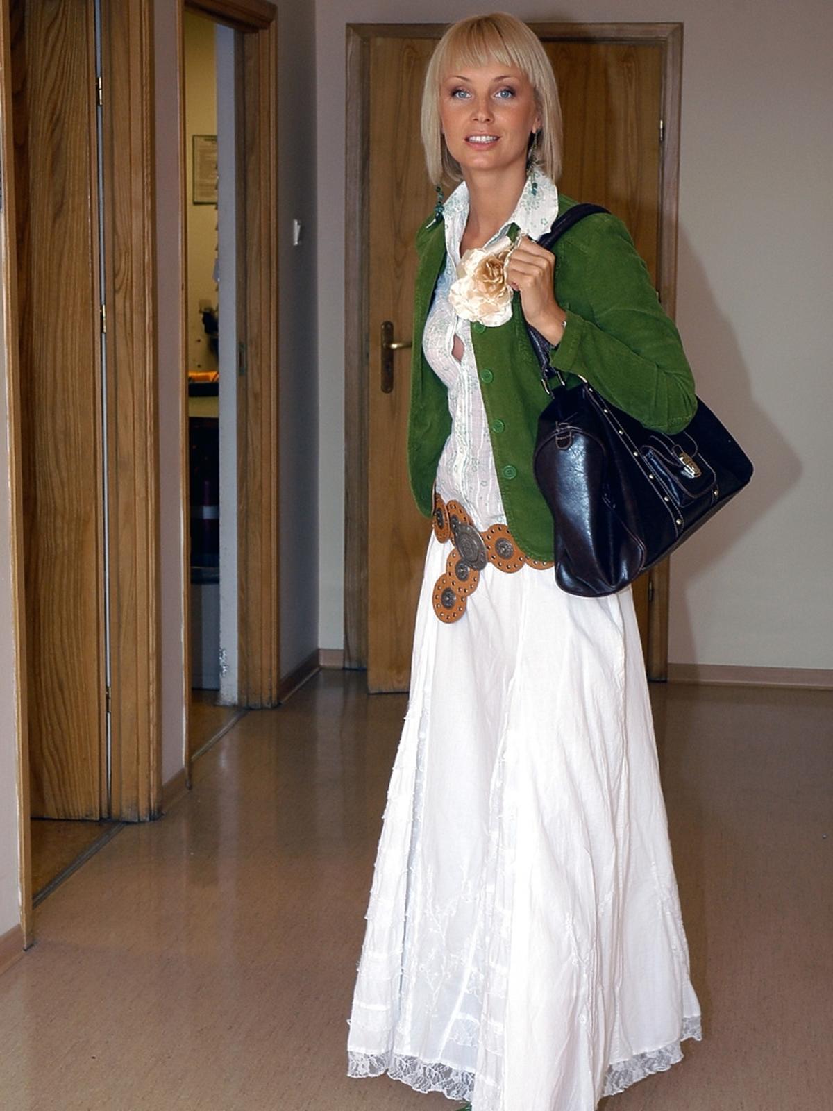 Agnieszka Szulim 10 lat temu