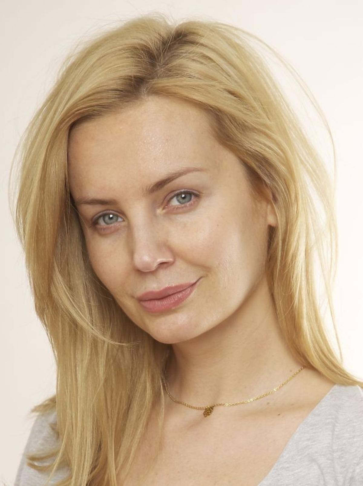 Agnieszka Szulim bez makijażu