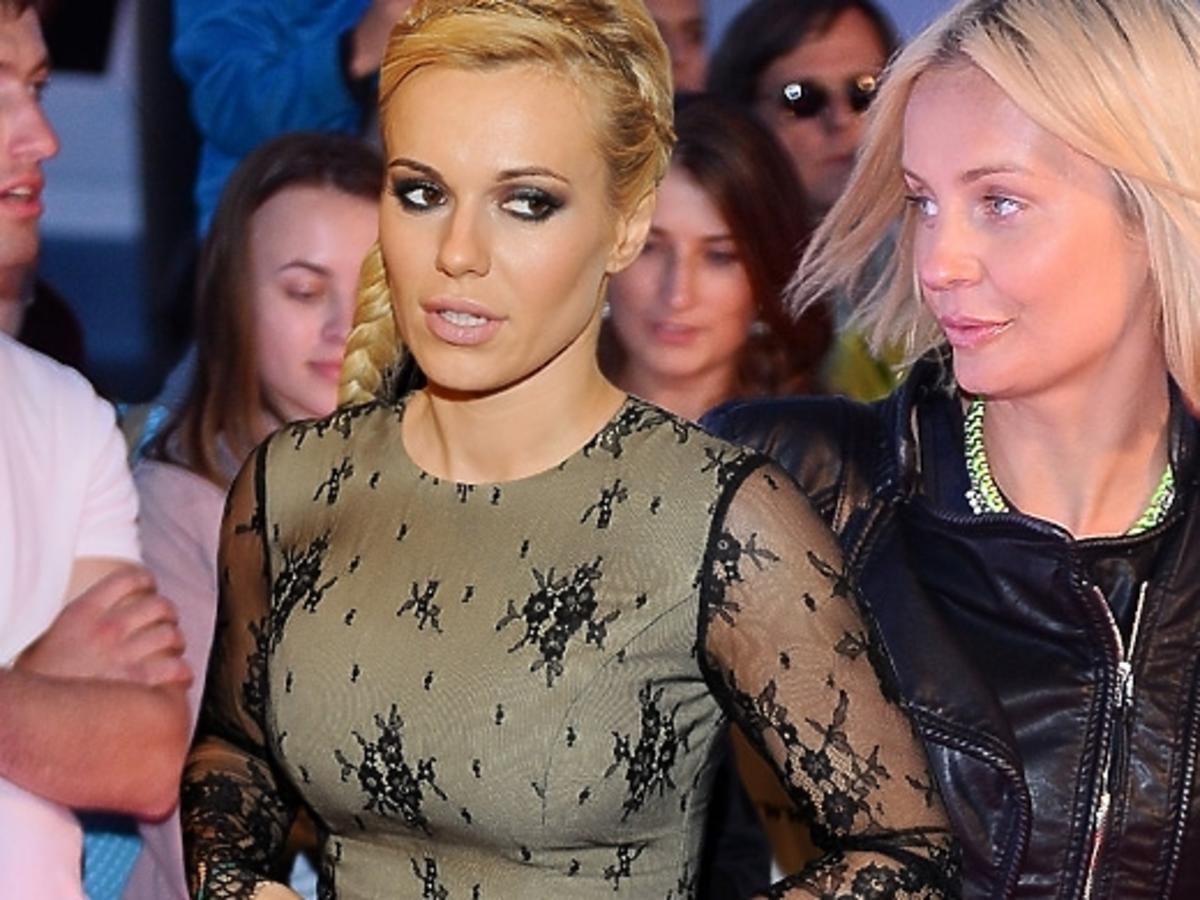 Agnieszka Szulim i Doda na imprezie Flesz Fashion Night