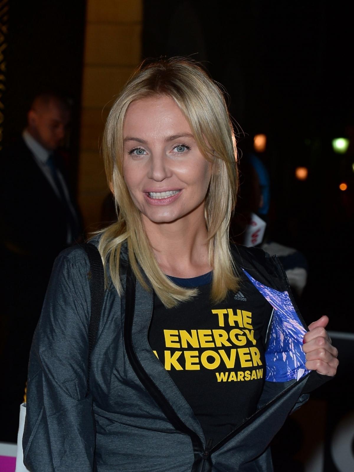 Agnieszka Szulim na imprezie Energy Take Over