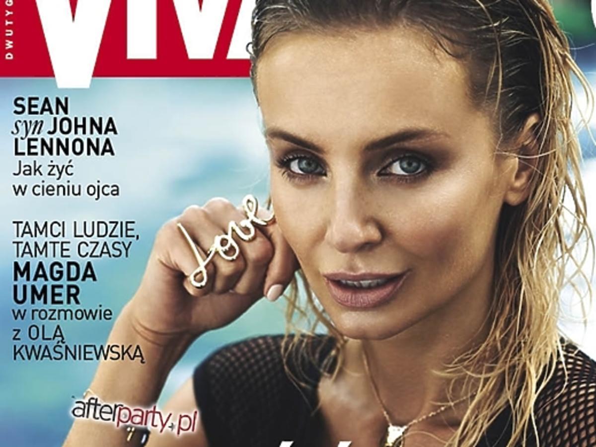 """Agnieszka Szulim na okłade """"Vivy!"""""""