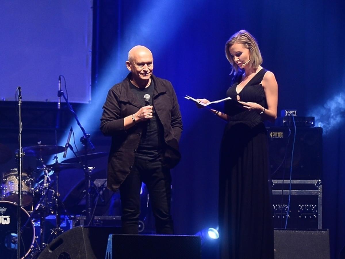 Agnieszka Szulim na wernisażu kalendarza Virako