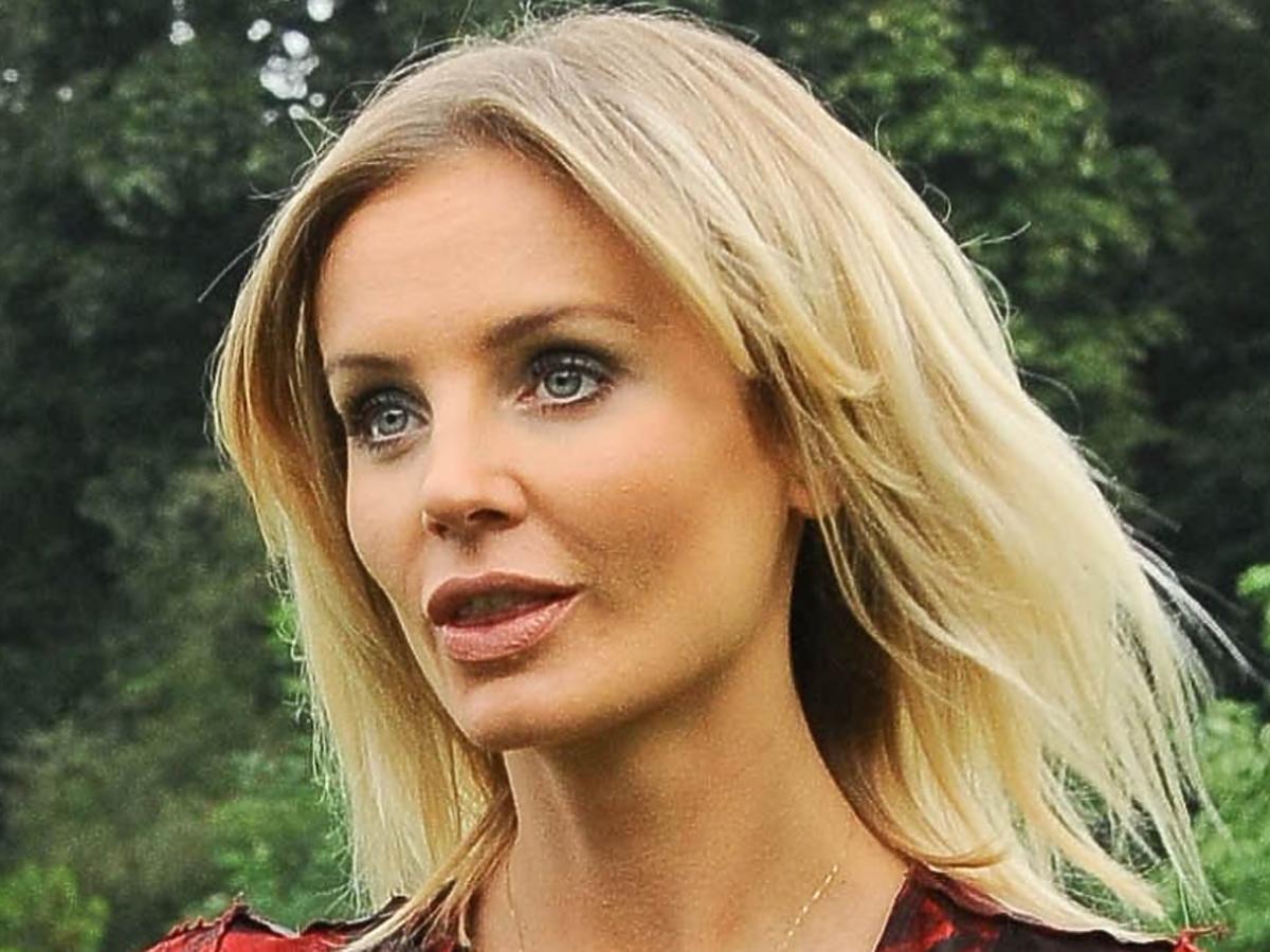 Agnieszka Szulim po konferencji TVN