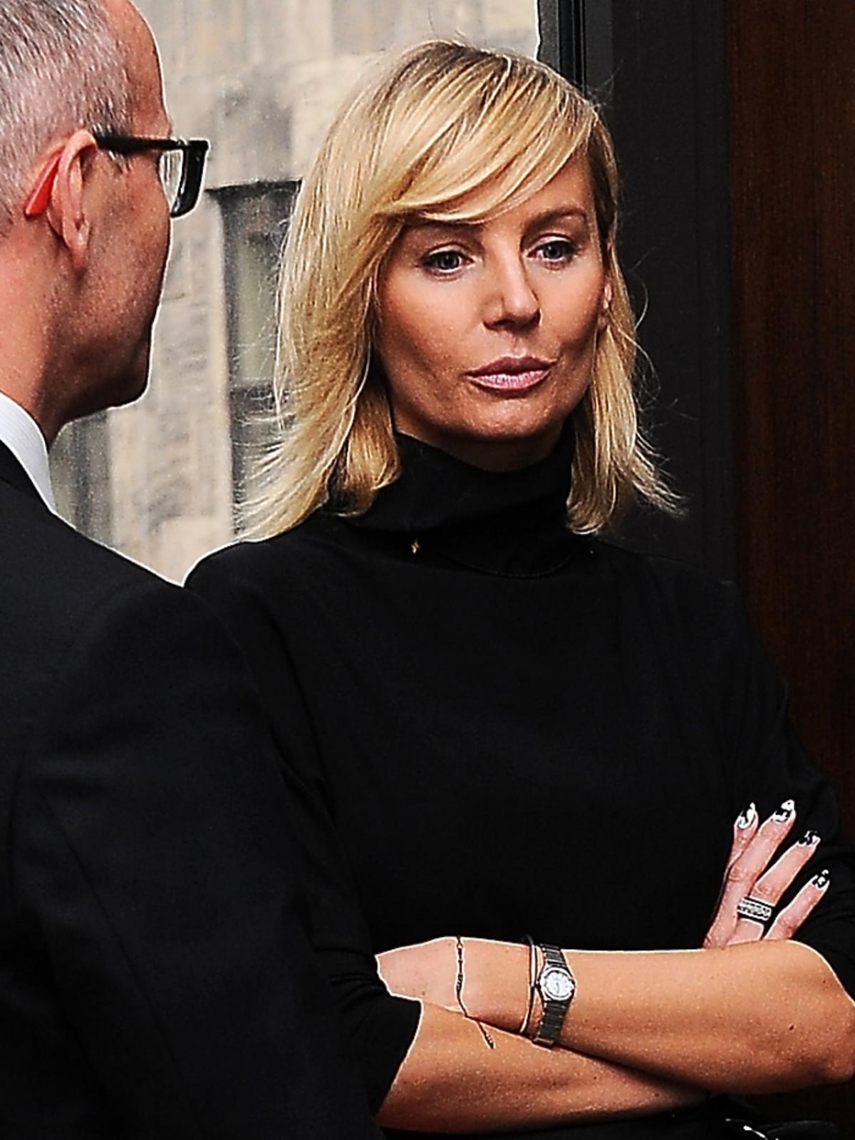 Agnieszka Szulim w sądzie