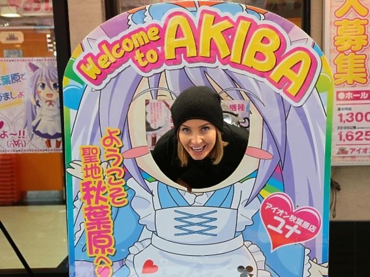 Agnieszka Szulim w Tokio
