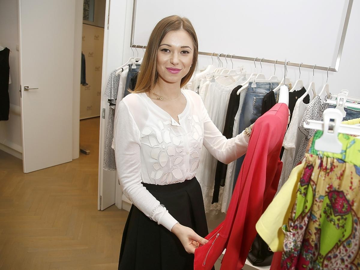 Agnieszka Wesołowska podczas press day FRACOMINA