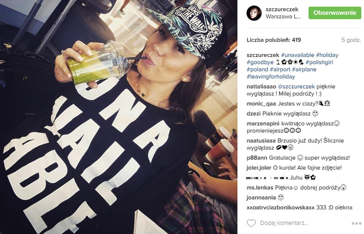 Agnieszka Wesołowska w czapce