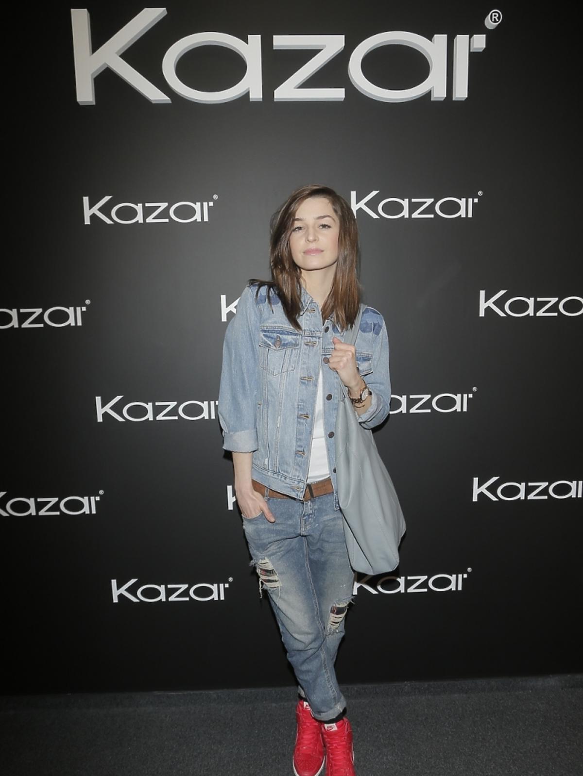 Agnieszka Więdłocha na pokazie Kazara