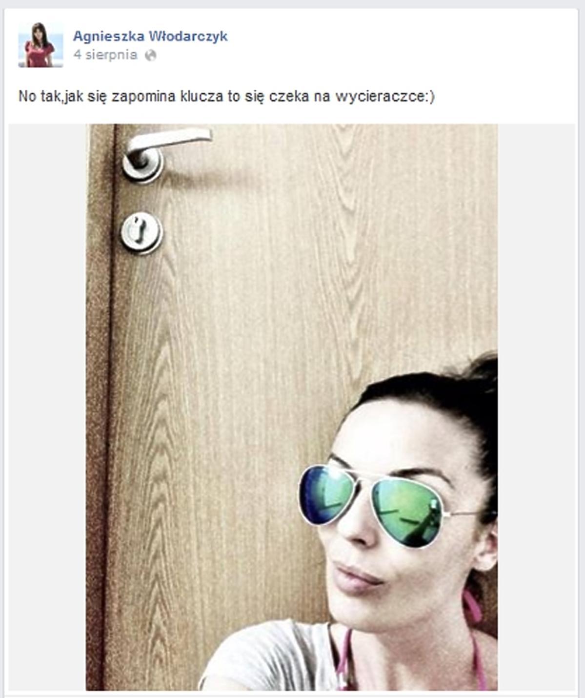 Agnieszka Włodarczyk na Facebooku
