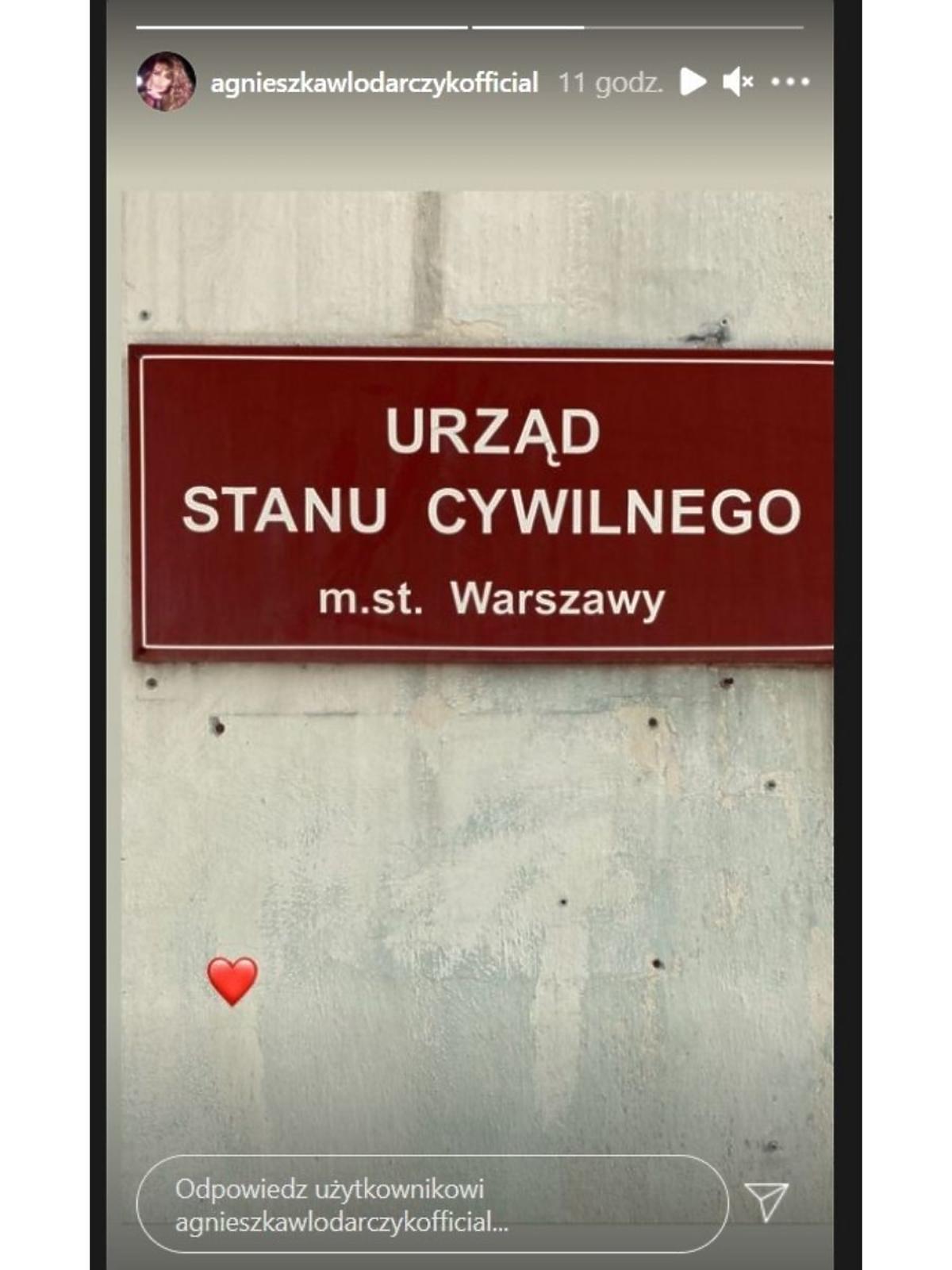 Agnieszka Włodarczyk wzięla ślub