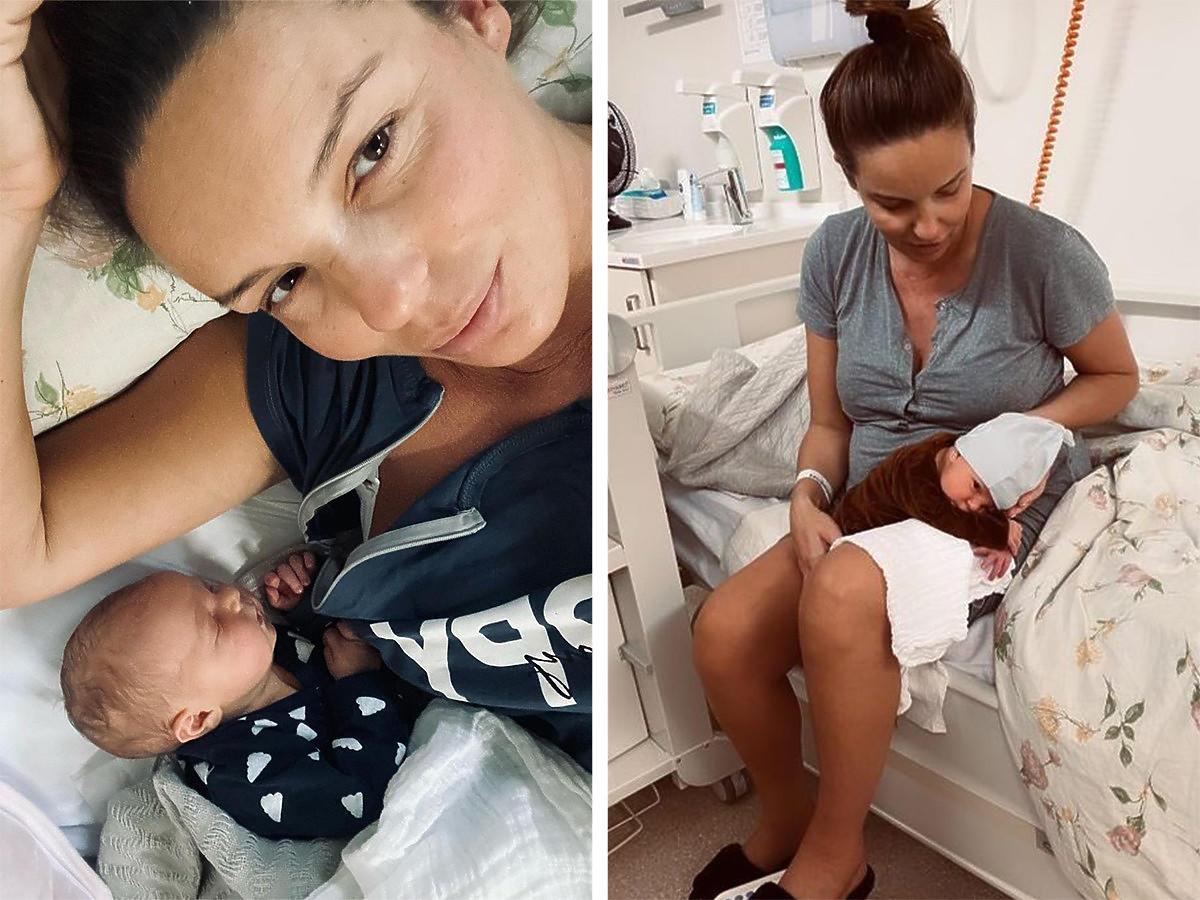 Agnieszka Włodarczyk z synkiem wyszła ze szpitala