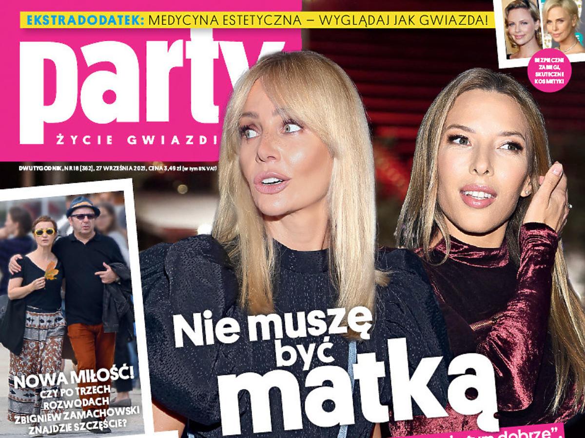 """Agnieszka Woźniak-Starak i Ewa Chodakowska na okładce """"Party"""""""