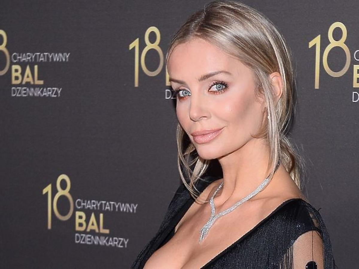 Agnieszka Woźniak-Starak na Balu Dziennikarzy