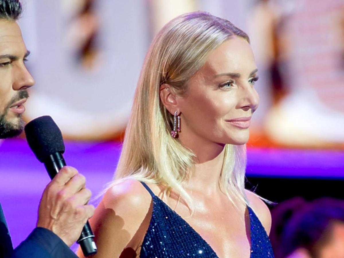 Agnieszka Woźniak-Starak na festiwalu w Sopocie