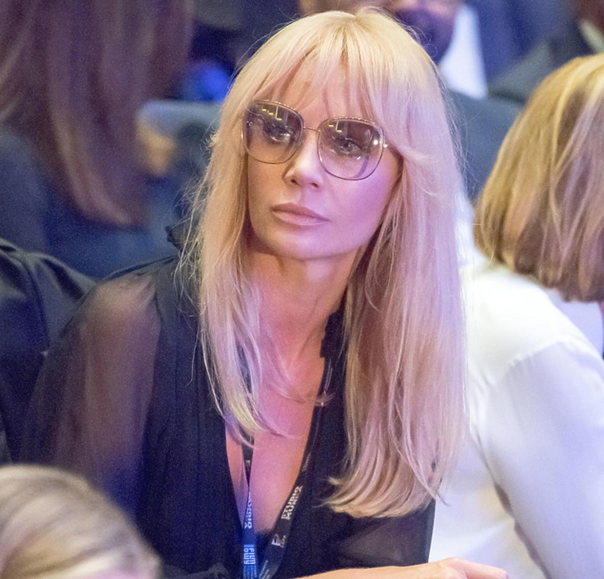 Agnieszka Woźniak-Starak na premierze w Gdyni