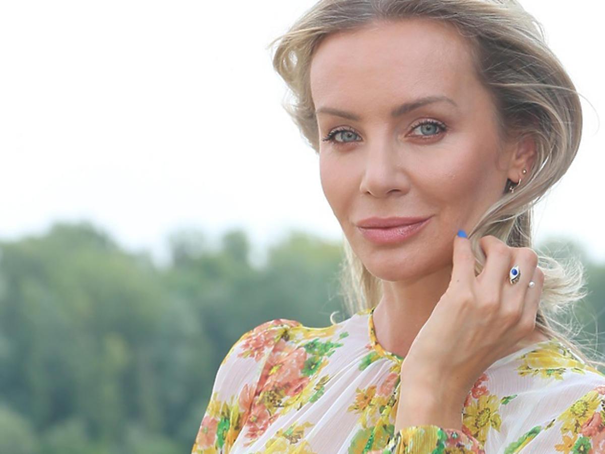 Agnieszka Woźniak Starak na ślubie