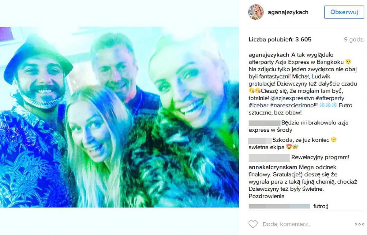 Agnieszka Woźniak-Starak o finale
