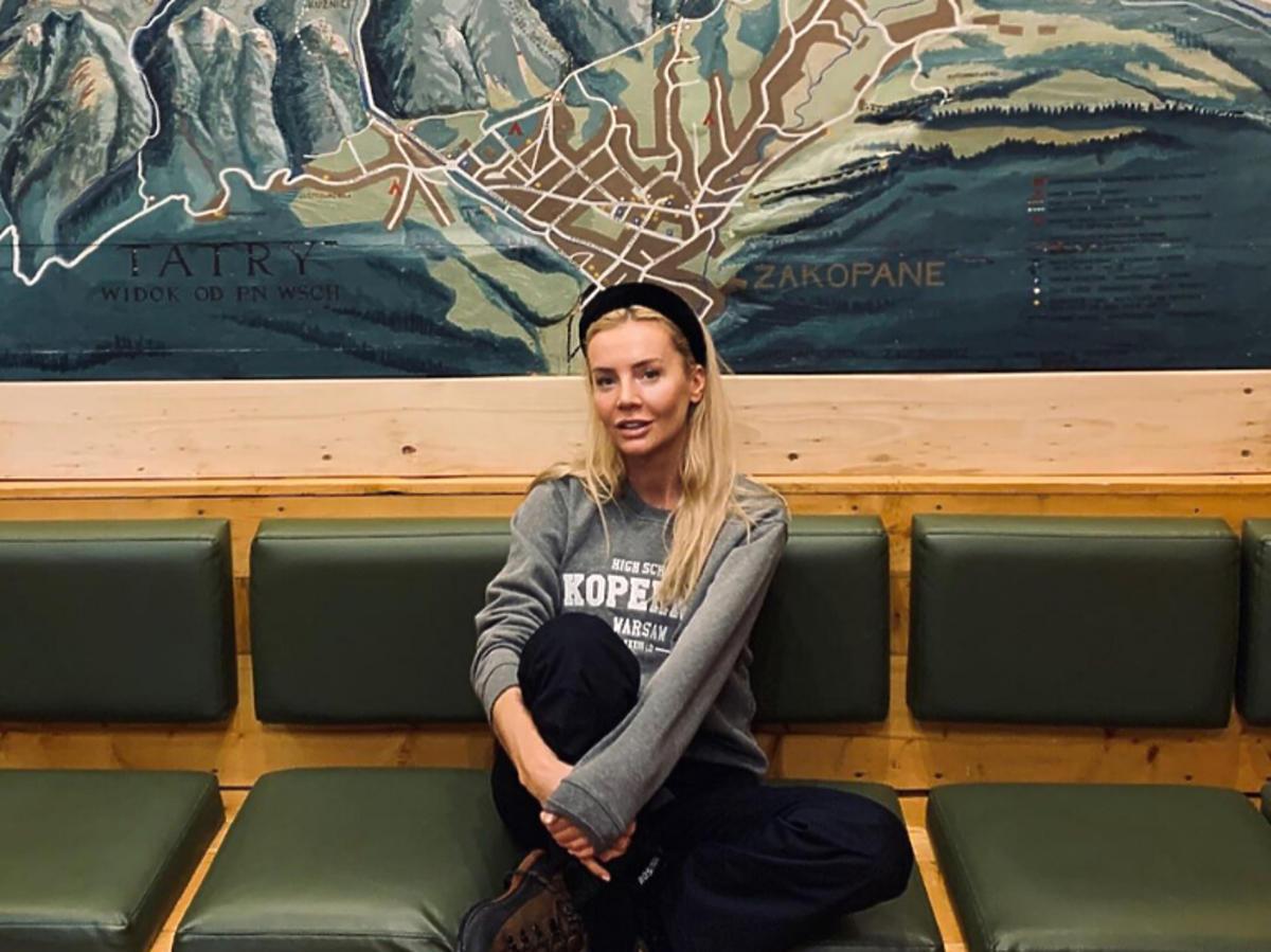 Agnieszka Woźniak-Starak w górach