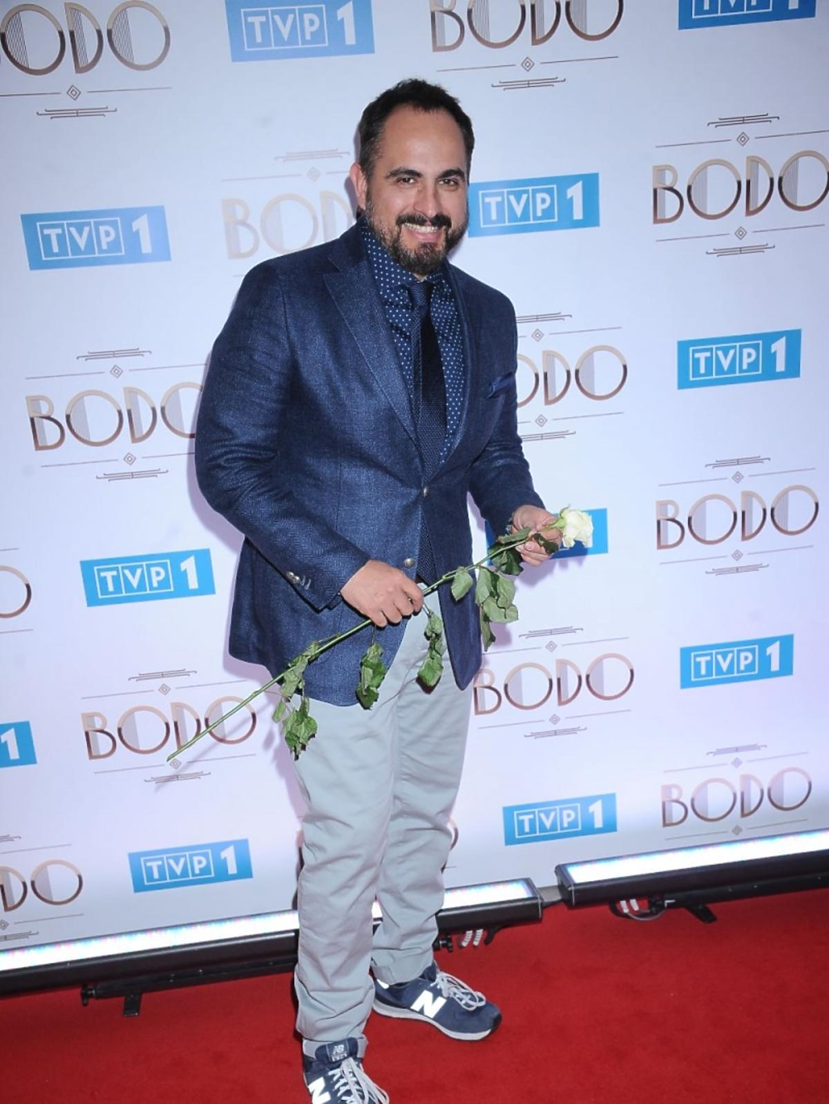 Agustin Egruolla na premierze Bodo