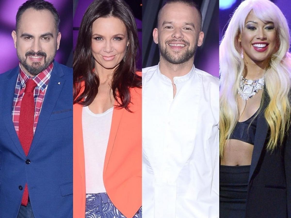 Agustin Egurolla, Kinga Rusin, Michał Piróg i Patricia Kazadi w programie You Can Dance