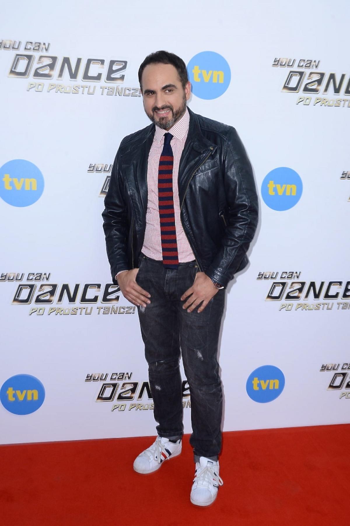 Agustin Egurrola na konferencji programu You Can Dance