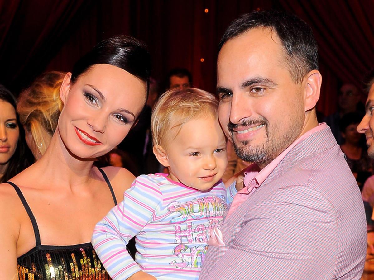 Agustin Egurrola z córką, Carmen