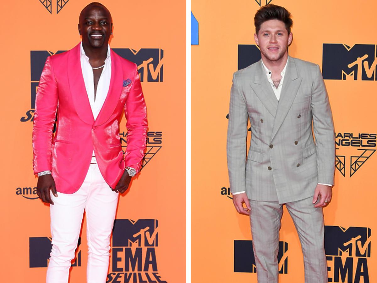 Akon i Niall Horan na MTV EMA 2019