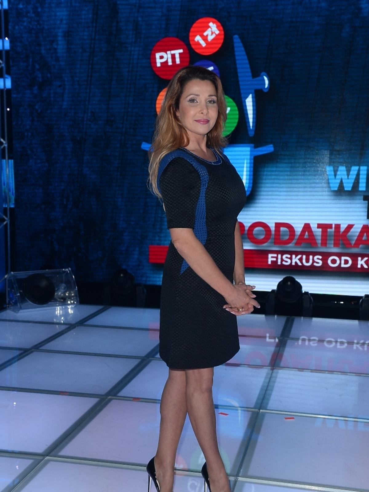 Aldona Orman na Wielkim Teście TVP