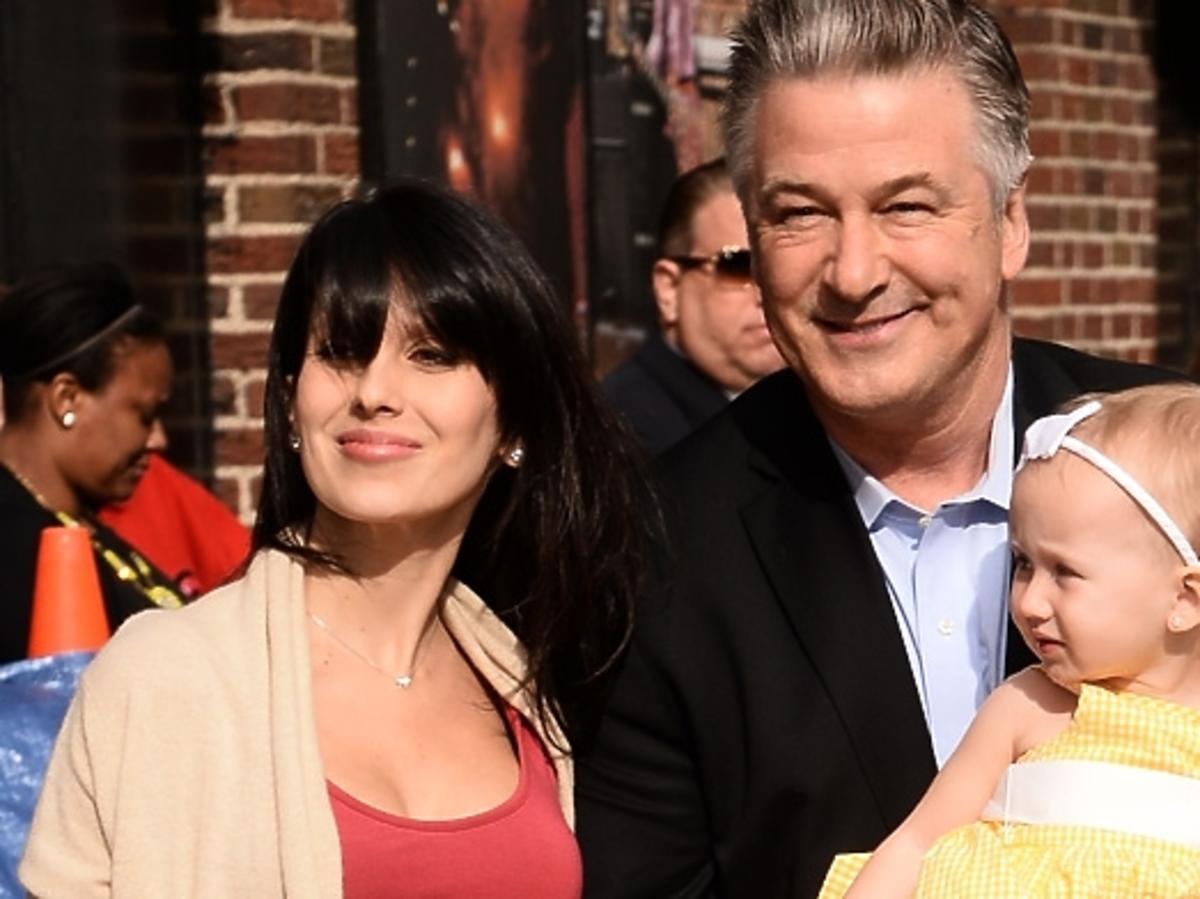 Alec Baldwin pochwalił się ciężarną żoną i dzieckiem