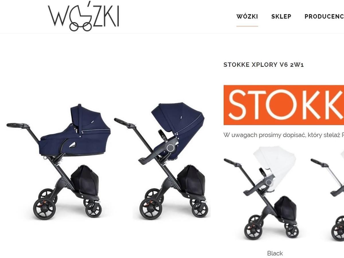 Aleksandra Kisio wybrała wózek dla dziecka