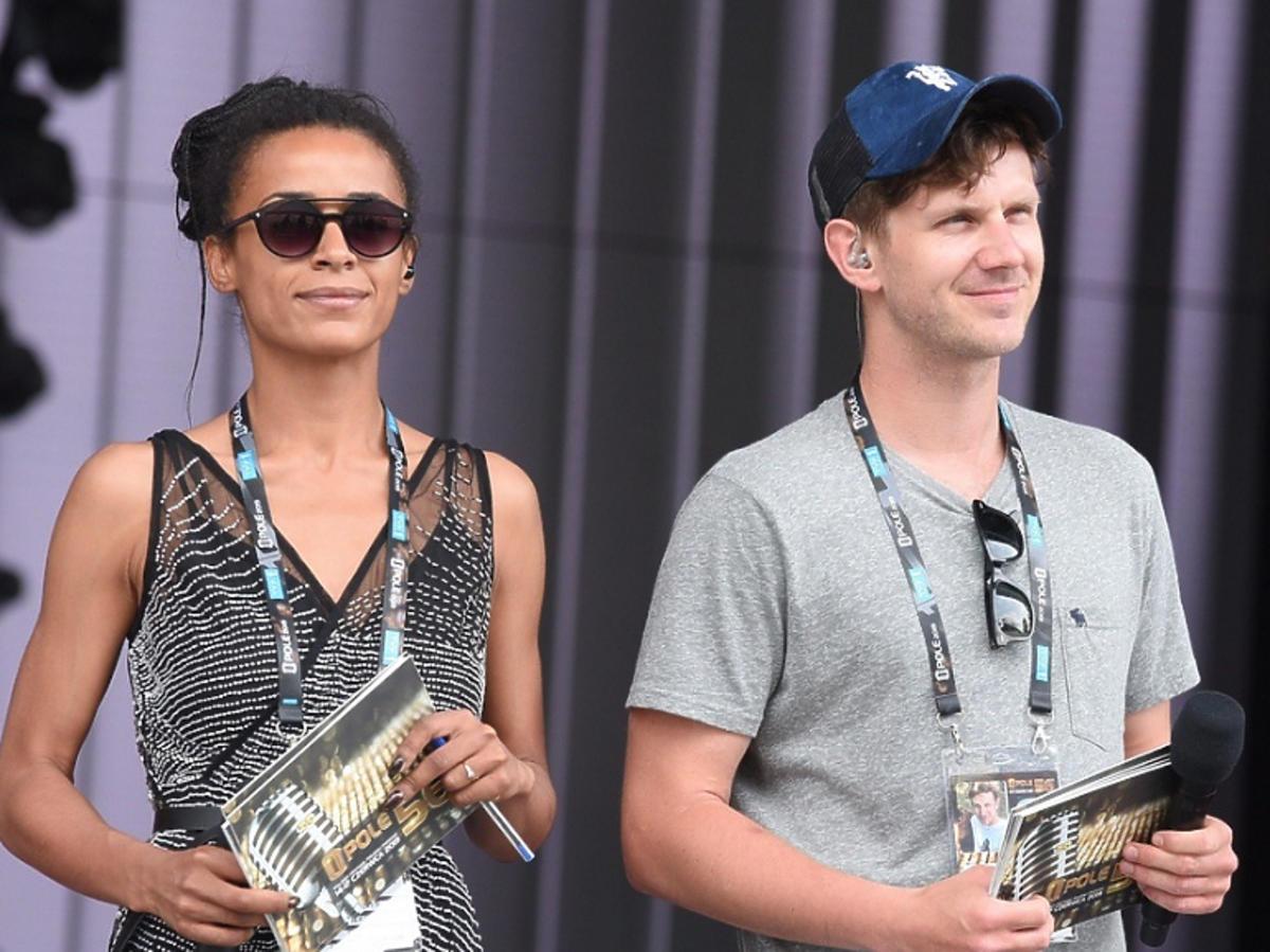 Aleksandra Szwed i Antek Królikowski na festiwalu w Opolu